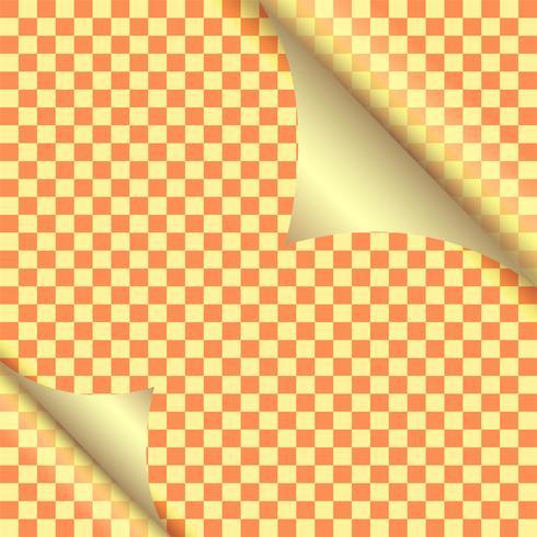 Modern paper curl colorful design background