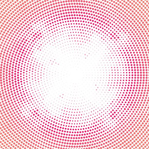 Abstract colorful circular halftone background