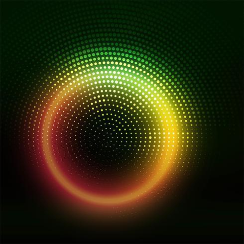 Moderne kleurrijke glanzende halftone achtergrond
