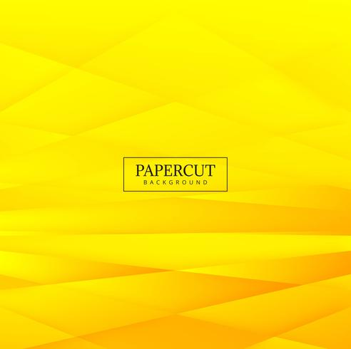 Abstract stripes papercut background vector