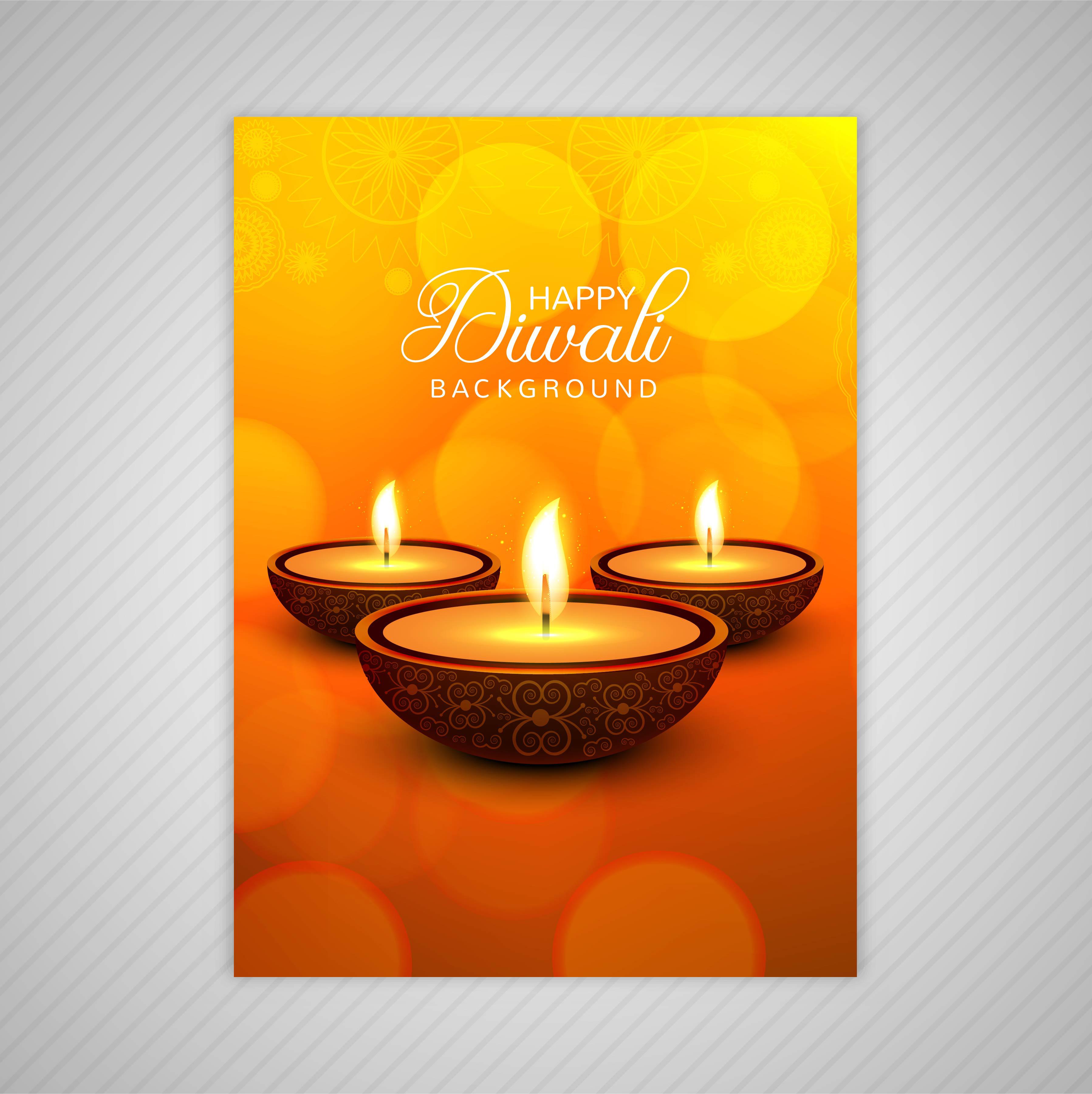 Conception De Modele De Carte De Voeux Diwali Decorative Telecharger Vectoriel Gratuit Clipart Graphique Vecteur Dessins Et Pictogramme Gratuit