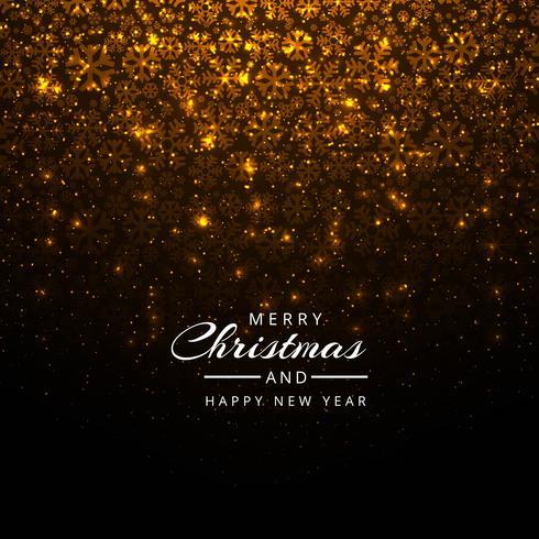 Vacker festival glänsande glitters jul bakgrund