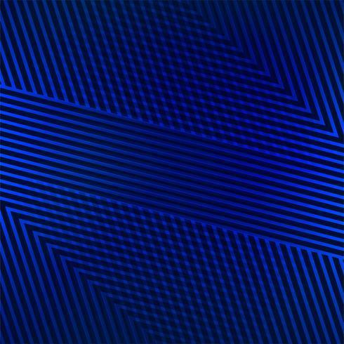 Vecteur de fond bleu lignes géométriques abstraites
