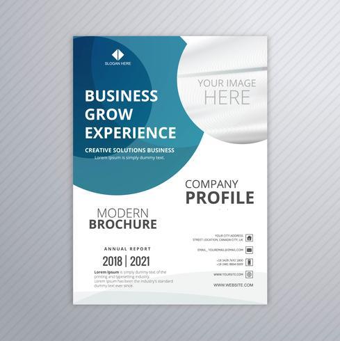 Design professionale del modello di business flyer
