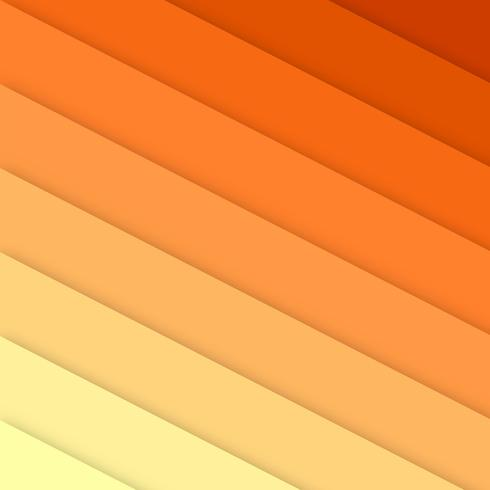 Abstract stripes colorful papercut background vector