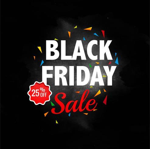 Abstrakt svart fredag försäljning layout bakgrund vektor