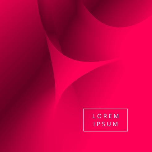 Abstrait vague rouge créatif fond illustration vecteur