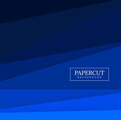 Modern papercut creative shape design