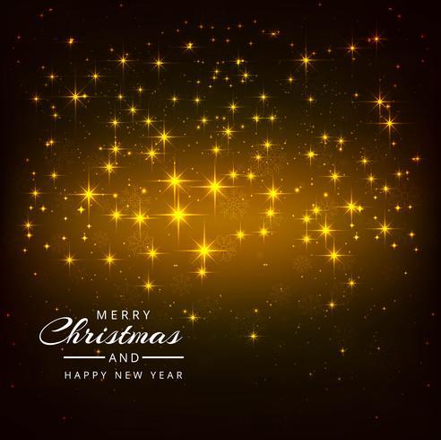 Beautiful Shiny Glitters Merry Christmas Festival Background