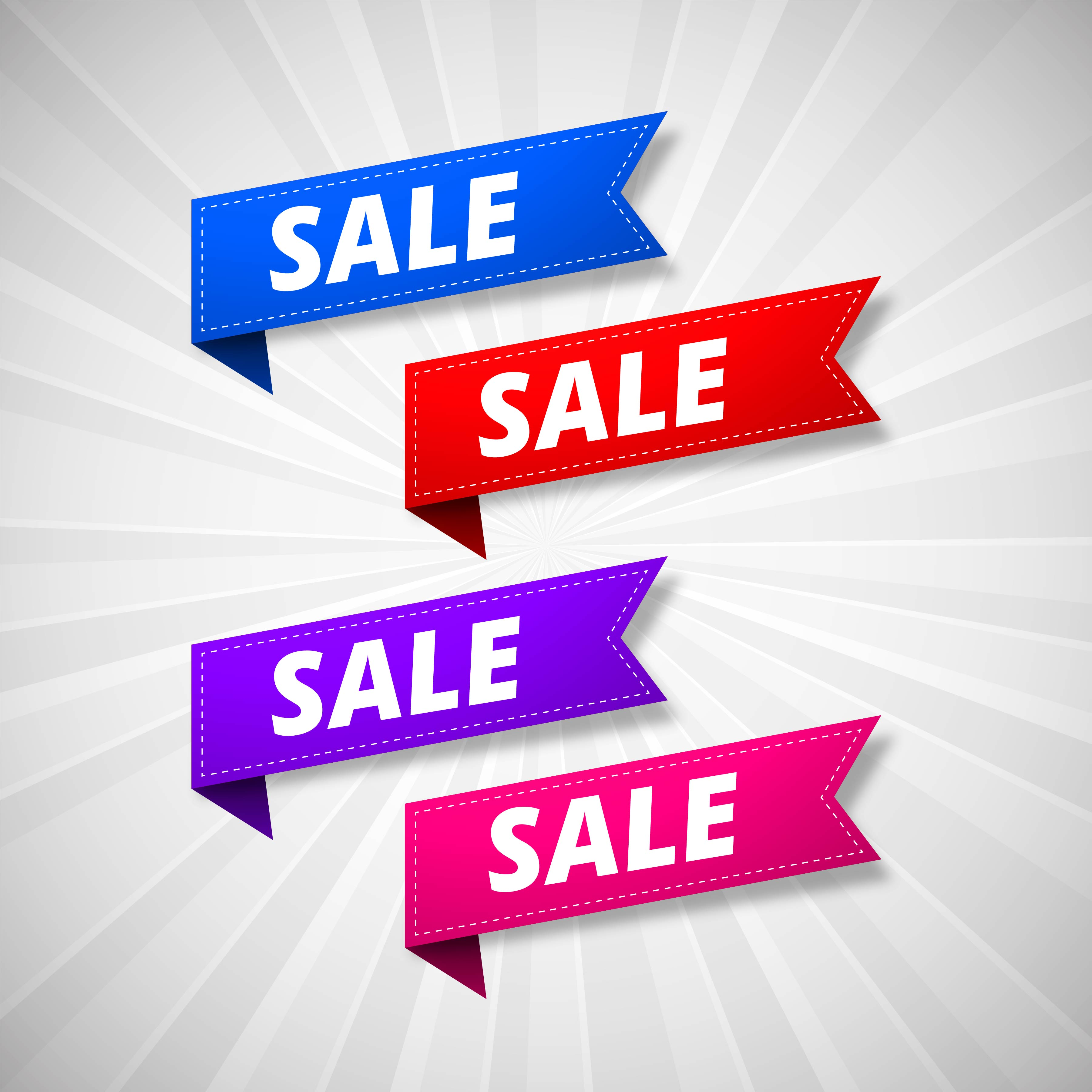Modern big sale banner design download free vectors for Sale moderne