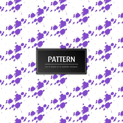 Abstract purple grunge pattern background vector