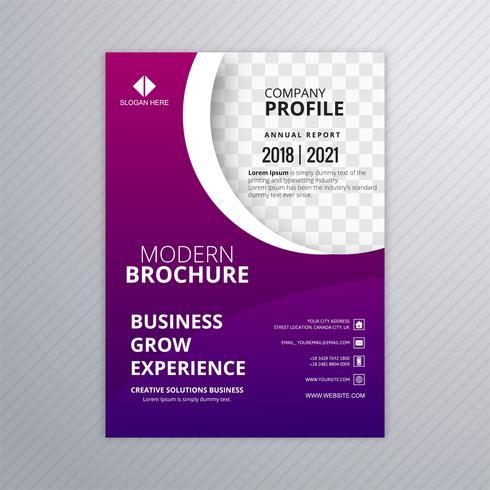 Business flyer mall professionell design illustration vektor