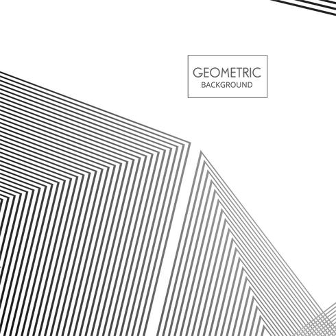 Vetor de ilustração de fundo de linhas geométricas