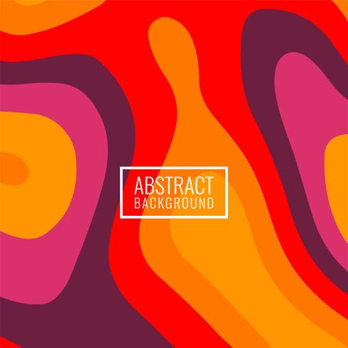Astratto sfondo colorato brillante papercut