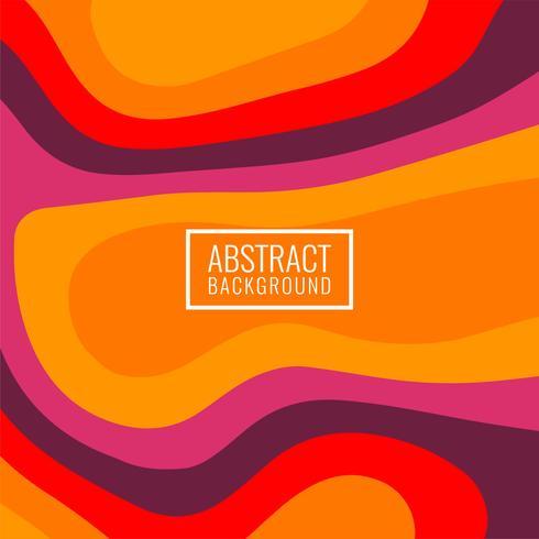 Abstracte kleurrijke modieuze papercutachtergrond vector