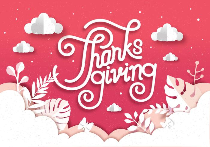 papercraft thanksgiving vol 2 vettoriale