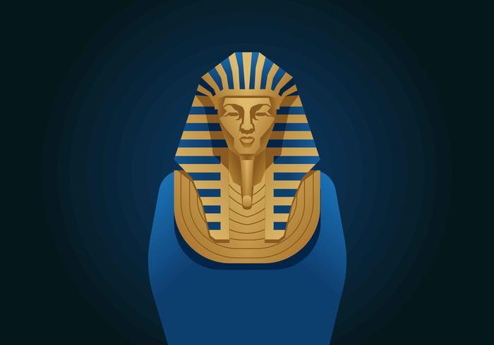 Illustrazione di vettore del faraone