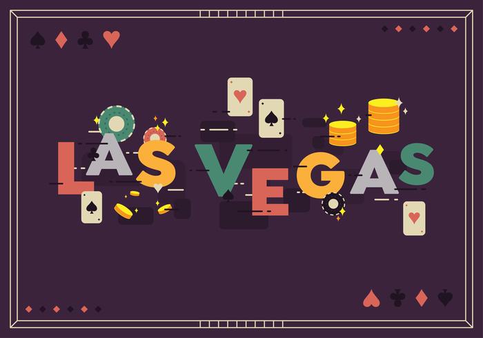 Las Vegas Vector Bakgrund