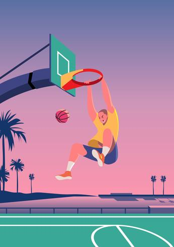 straat basketbal