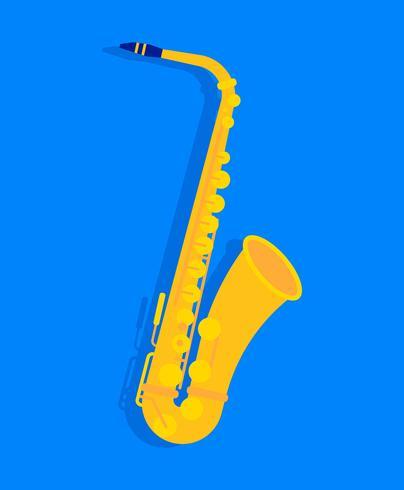 illustration de saxaphone