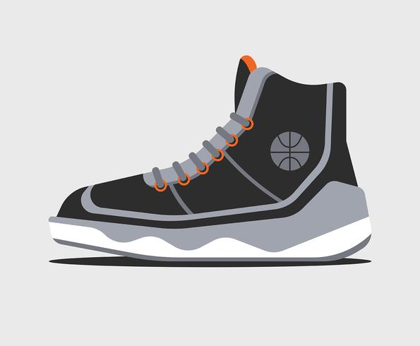 Basketball-Schuh-Illustration