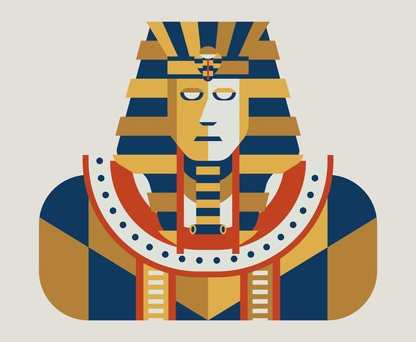 Illustration du pharaon