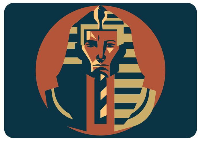 Vector de faraón