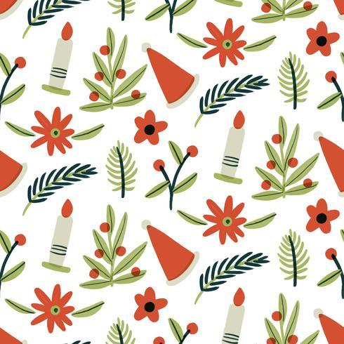 Cute Christmas Pattern vector