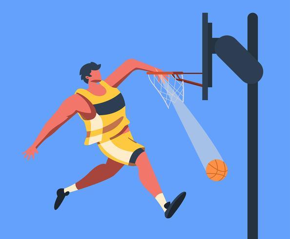 basketball vecteur