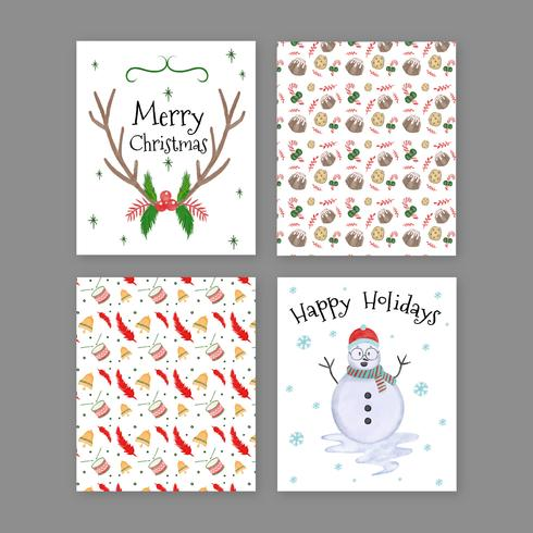 Cute Christmas Card Collection