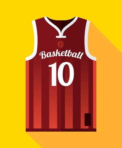 basket jersey mockup