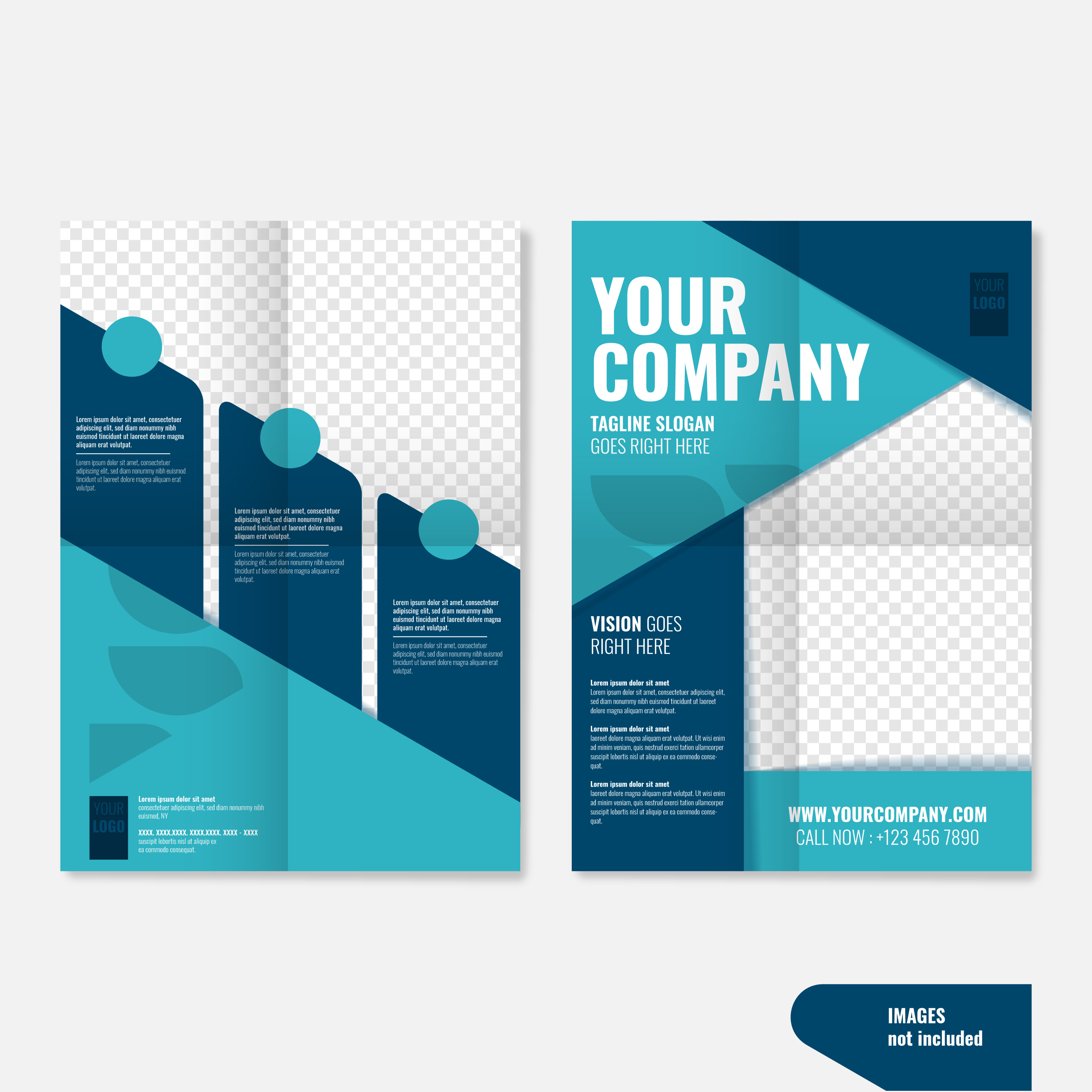 Creative Brochure Templates: Professional Geometric Creative Business Brochure