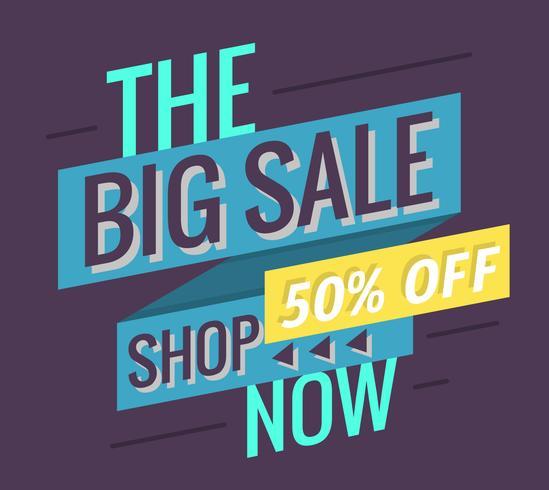 De grote verkoop