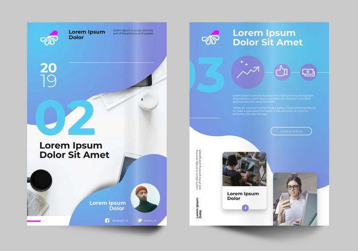 Modern Professional Business Flayer Design Template