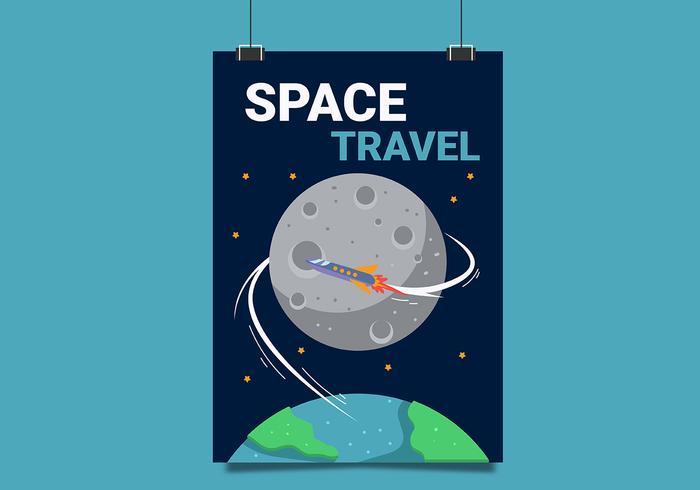 Maan reizen Poster