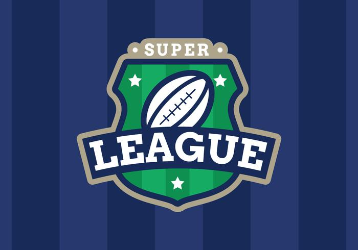 American Super League Emblem vector