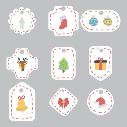 Etiquetas de regalo de Navidad super lindo