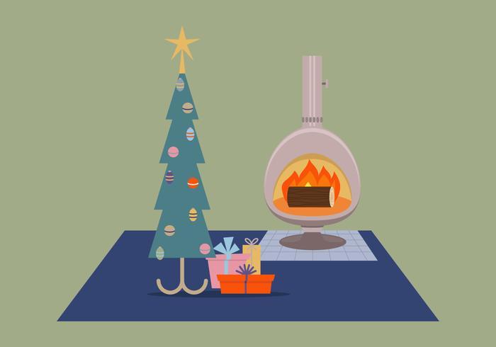 Christmas Tree Retro