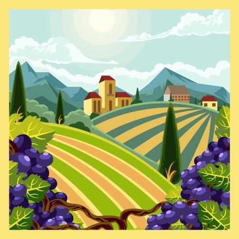 wijngaard scène badge