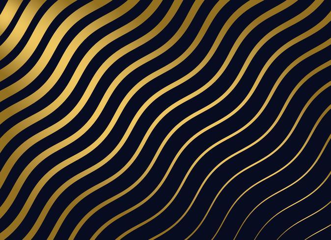 abstrakt guld vågigt mönster bakgrund