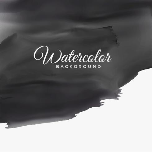 schwarze Aquarellbeschaffenheit mit Textraum