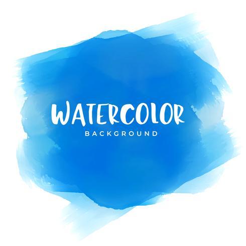 fond de texture de peinture aquarelle bleue