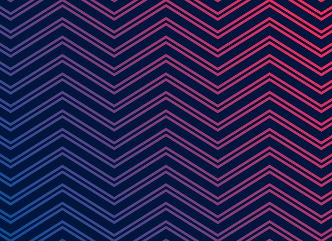 svart bakgrund med vibrerande zigzagmönster