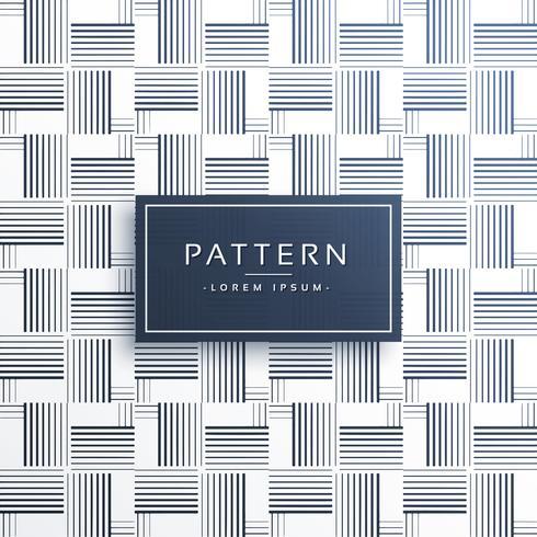 Fondo de patrón de línea de estilo horizontal y vertical
