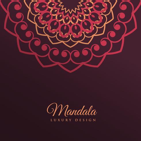 diseño de fondo mandala decoración arte