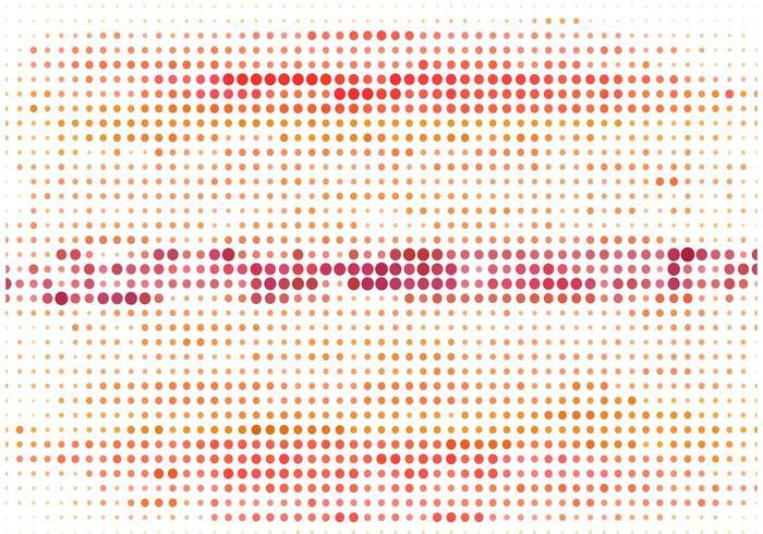Vector colorido fondo de semitono