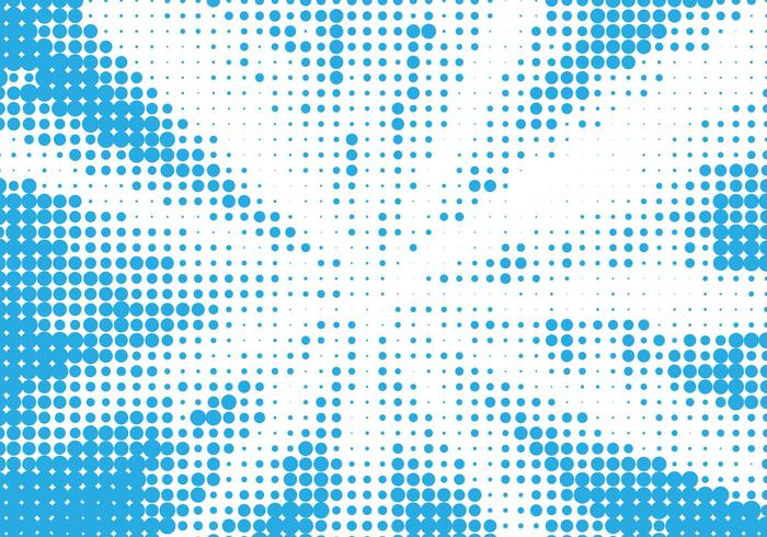 Fundo de meio-tom azul vector