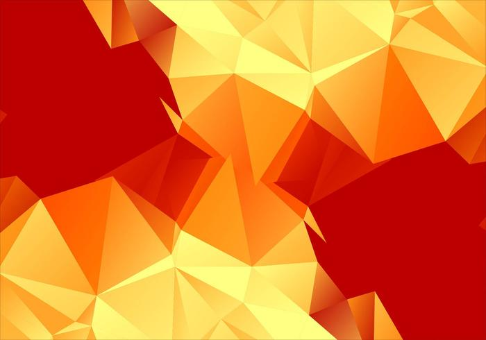 Vector sfondo colorato poligonale