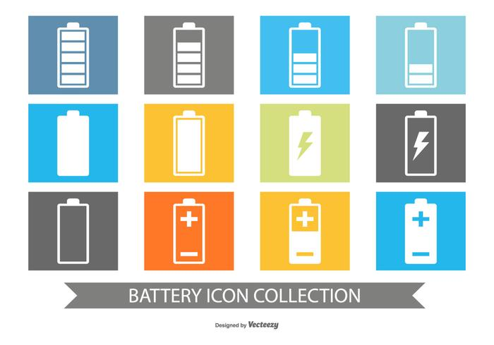 Battery Icon Collection