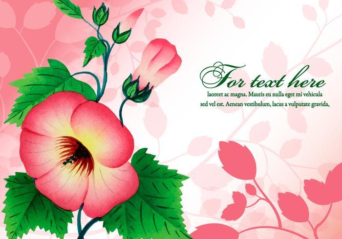 Beautiful Floral Illustration